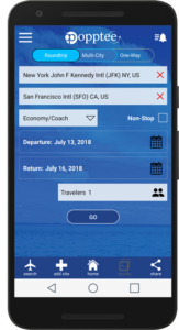 android-phone-selecting-flight-parameters
